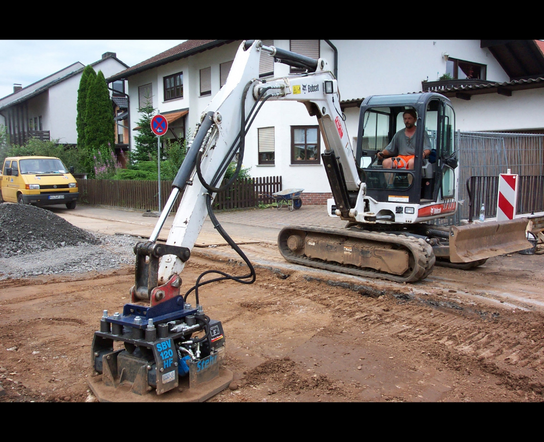 Stehr mounted compactor SBV 80 HF / 160 HF